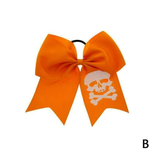 Halloween Bow Hairbands Baby Infant Headband Children Accessories Hair Elas T9H8