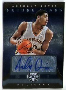 Details About Anthony Davis 13 14 Panini Totally Certified Auto Autograph Card 73 99