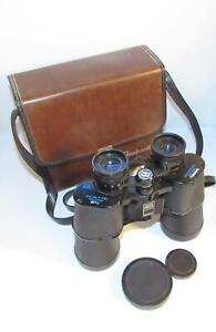 Vintage Bushnell Sport View 7x50 Insta Focus Binoculars with Field Case.