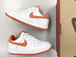 Vintage 1999 DS Nike Air Force 1 low SC BP White Hoop Orange AF1 Max | eBay