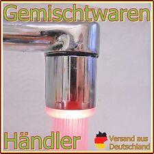 LED - Aufsatz Wasserhahn 3 Farben Temperaturabhängig,  Keine Batterie notwendig