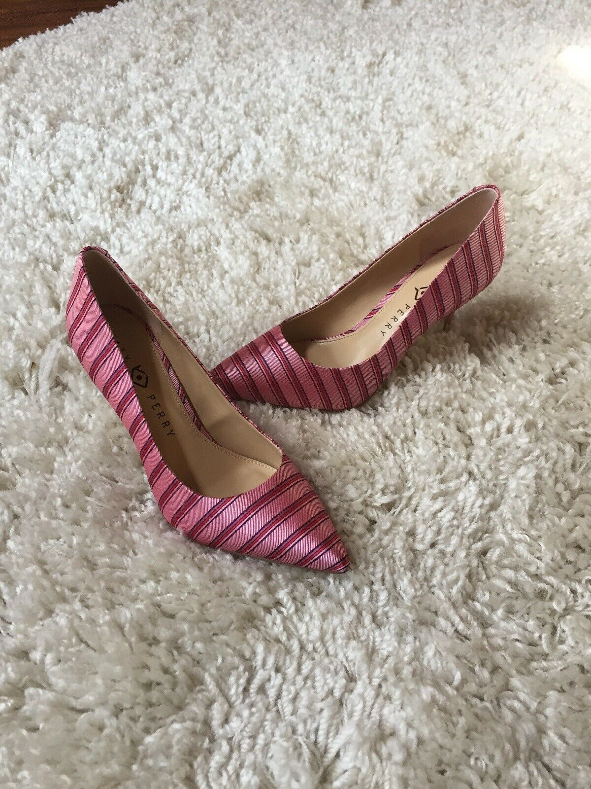 Katy Perry The Sissy Red Purple Pink Pump Size 8.5 34KP0356 8010181