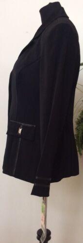 76 Taglia10 in Blazer Career poliestere Giacca 100 nero Dressbarn Retail Nwt Women's qfxwWXgzcP
