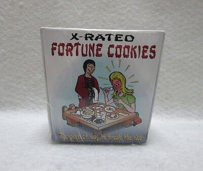 Novelty X Rated Fortune Cookies 6oz Valentine's Couple Gift Birthday Party Gag