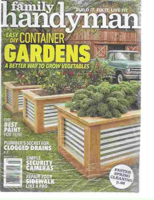 Family Handyman Magazine DIY Home Improvement March