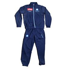 FW13 SSC NAPOLI 10 ANNI TUTA BAMBINO JUNIOR TRACKSUIT SURVETEMENT SUDADORA BN