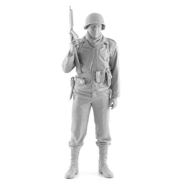 Assault 1 16 US Infantryman w M1A1 1942-1945