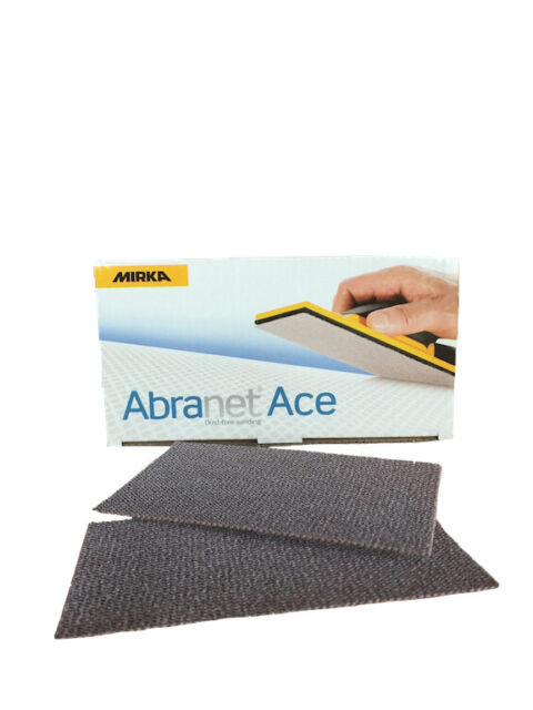 Mirka Abranet Schleifpapier 80x230 mm Streifen Gitternetz Klett Schleifstreifen
