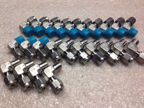 "SS4M022RT ZB#36 Lot Of 24 Swagelok Male Elbow 4mm Tube X 1//8/"" Npt SS-4M0-2-2RT"