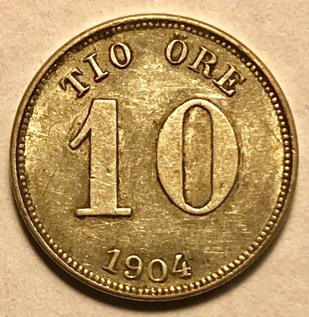 Sweden 10 Ore 1904 For Sale Online Ebay
