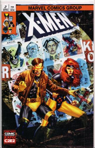 X-MEN #7 COMIC BOOK ~ Marvel Comics JAY ANACLETO EXCLUSIVE C2E2 VARIANT