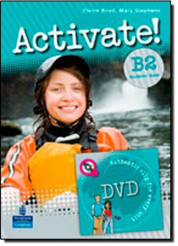 activate! b2, student book + dvd fc12 aa.vv. 9781405884181