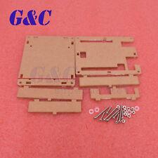 10x Clear Acrylic Box Enclosure Transparent Case Shell F Uno R3 Board Module L