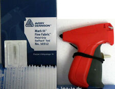 "Avery Dennison 10312  Fine Fabric Price Tagging Gun + 5000 2"" Barbs/Fasteners"