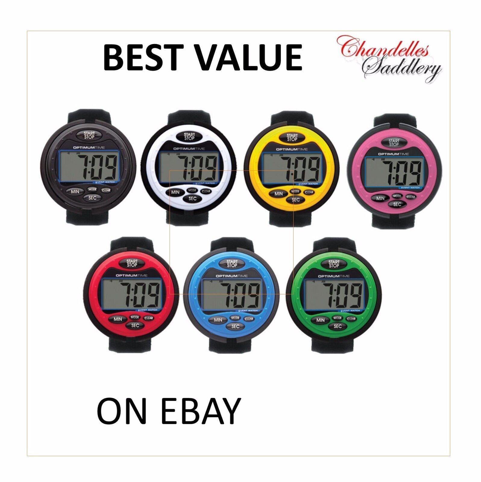 Tempo ottimale OE 3 SERIES evento orologio-scelta di 7 colorei + Worldwide Shipping