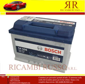 BATER-A-COCHE-BOSCH-SILVER-S4-008-74Ah-680A-12v-DX-NUEVA-ETIQUETA