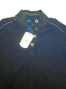 100katoen Nwt klein145 voorsweater Tommy Kwartsknoops Bahama 23793830562 Navy v08wmNn