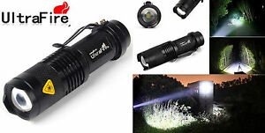 Ultrafire-Zoomable-Cree-Q5-2000Lumen-Mini-LED-Flashlight-Focus-Torch-Light-Lamp