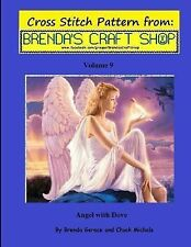 Cross Stitch Patterns from Brenda's Craft Shop: Angel with Dove - Cross...