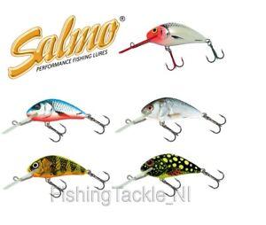 Salmo-Hornet-Crankbait-Various-Sizes-Colours-Floating-3cm-4cm-Fishing