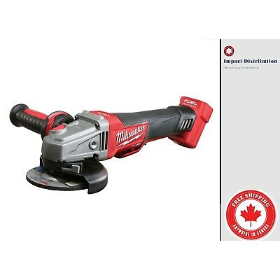 "New Milwaukee 2780-20 M18 FUEL™ 4-1/2"" / 5"" Grinder Cordless Bare Tool"