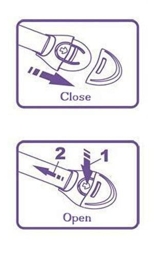 5 Pieces Children Kids Clippasafe Toilet Seat Lock Safety Latch Toddler Proof