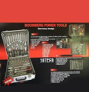 valigetta attrezzi boobmerg power tools 187pcs strumenti da lavoro | ebay  ebay