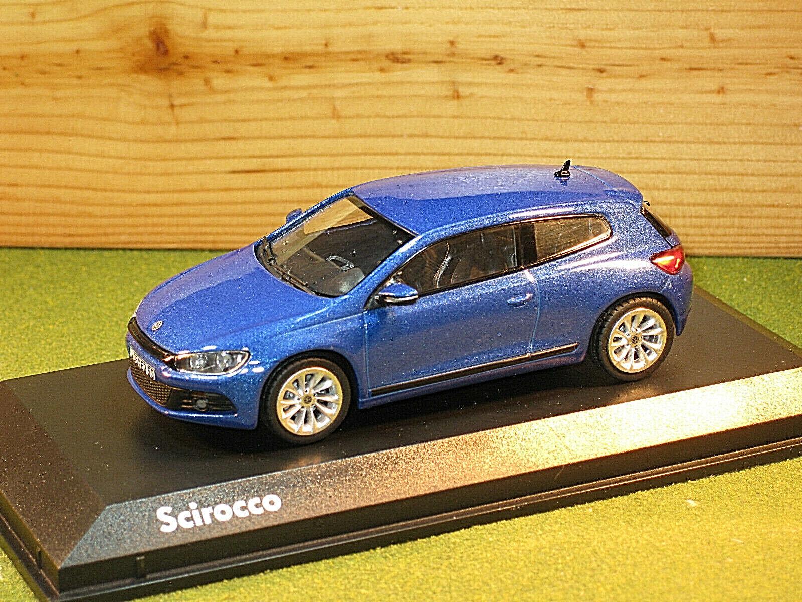 Norev 840182 Volkswagen Scirocco in bluee 1 43rd scale