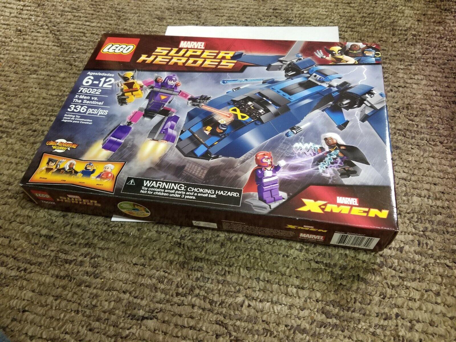 LEGO Marvel Superheroes - X-Men vs. The Sentinel 76022 Factory Sealed set