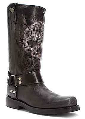 Harley-Davidson Men's Quentin Pull On Motorcycle Riding Biker Boot Black D93215