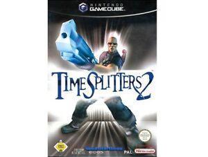 Nintendo-GameCube-Spiel-Time-Splitters-2-mit-OVP