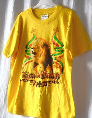 Kinder T-Shirt/_Rot/_Red  Lion of Judah/_Kids Shirt/_Reggae Rasta