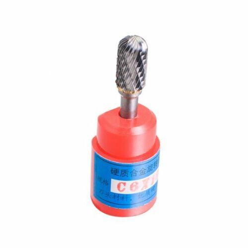 Cylindrical Cut Tungsten Carbide Burr Bur Cutting Tool Die Grinder Bit 1//4 ACDFG