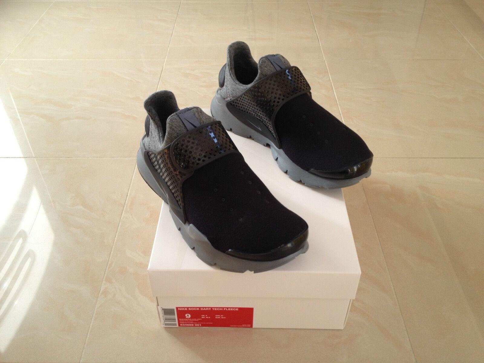Nike NikeLab Sock Dart Tech Fleece Cool Grigio Nero Tutte le Misure NUOVO | Ad un prezzo inferiore  | Uomo/Donna Scarpa