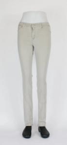 Cross Women Anya High Waist Slim Beige Denim Jeans P489-126 Damen Hose