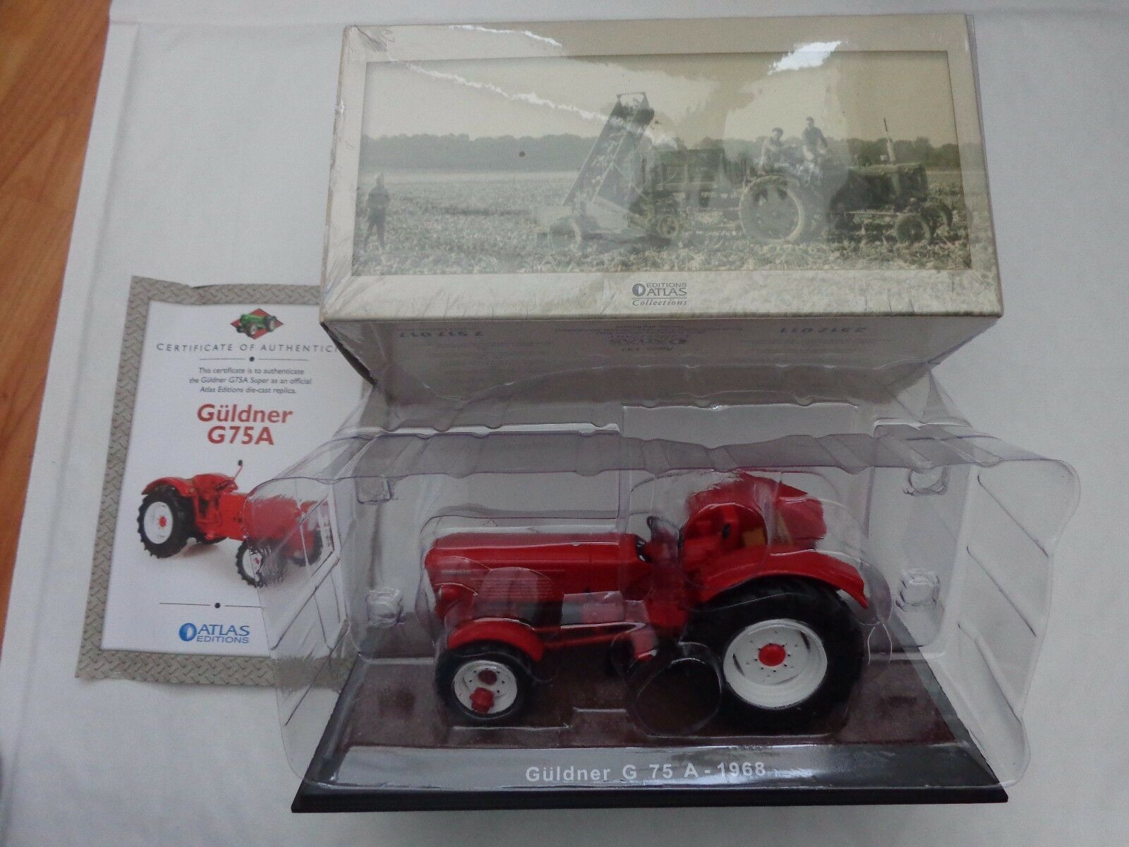 ATLAS EDITIONS 1 32 CLASSIC 1968 GULDNER G 75 A - DIECAST MODEL TRACTOR