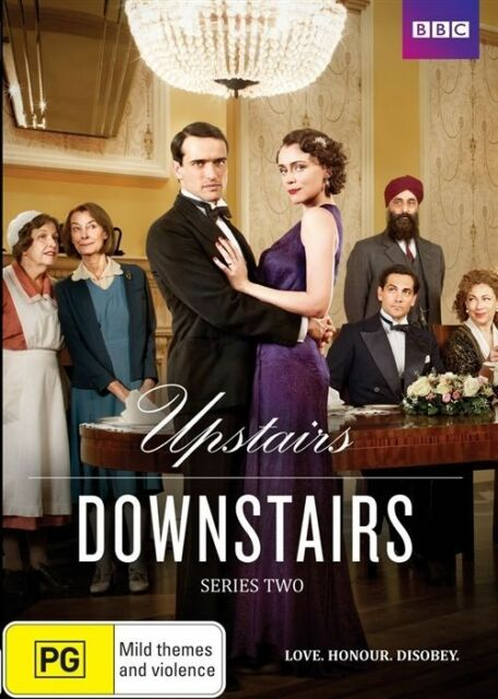 Upstairs Downstairs : Series 2 (DVD, 2012, 2-Disc Set)like new region 4