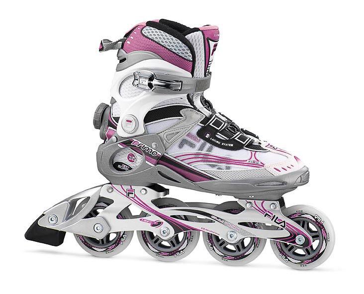 Fila Primo Lady XTA Lady Primo Freizeit Fitness Inliner Skates weiss-magenta Gr. 42,5 Sale 64f9f7