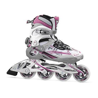 Fila Primo XTA Lady Freizeit Fitness Inliner Skates weiss-magenta Gr. 42 Sale