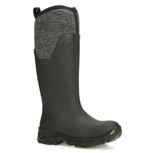 Boot Maglia Arctic Ice nera Tall Muck Heather Ag Womens di vfFgH