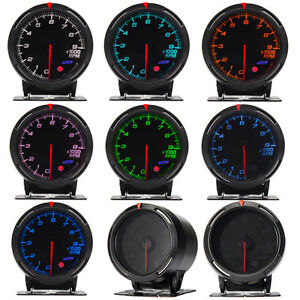 Universal 7 color car led light tacho tachometer rpm gauge meter universal 7 color car led light tacho tachometer sciox Choice Image