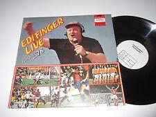 LP/EDI FINGER LIVE/FUSSBALL WM 78/Polydor 2440205/KRANKL/BLONDL/ MUSTERPLATTE