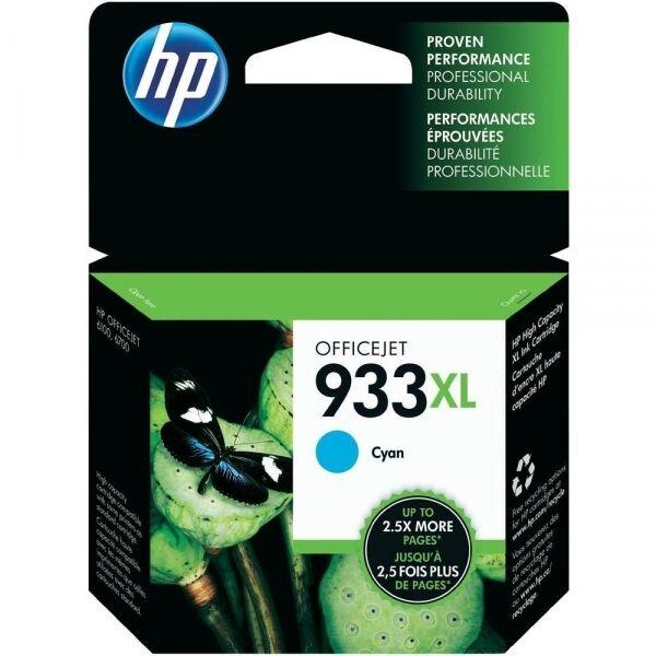 Original HP 933XL Cyan Cartouche d'encre d'origine Neuf (CN054AE) 6100 6600