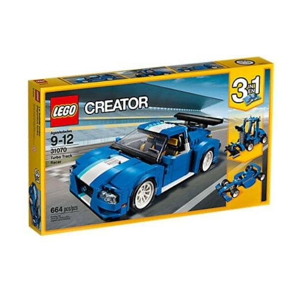LEGO CREATOR TURBORENNWAGEN TURBO RENNWAGEN 31070 NEU