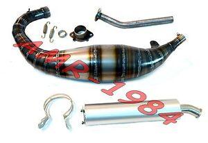 Consciencieux Marmitta Jollymoto Corsa Aprilia Rs125 1995 2012 + Silenziatore Alluminio 0115