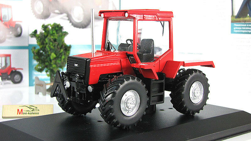 LTZ-155 Agricultural Soviet Wheeled Tractor USSR 1988 Year 1 43 Scale HACHETTE