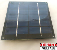 1.25 Watts 6 Volts 250ma Solar Panel Poly-crystalline