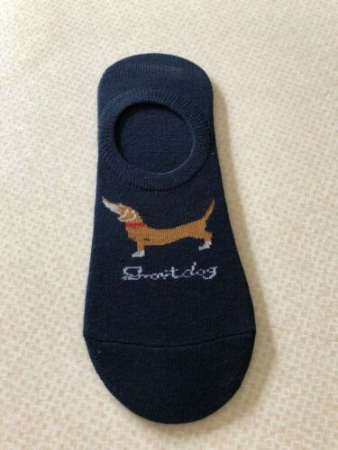 SAUSAGE//DACHSHUND//LONG DOG SOCKS//FOOTLETS//TRAINER..UK SIZE 4-8....BRAND NEW..