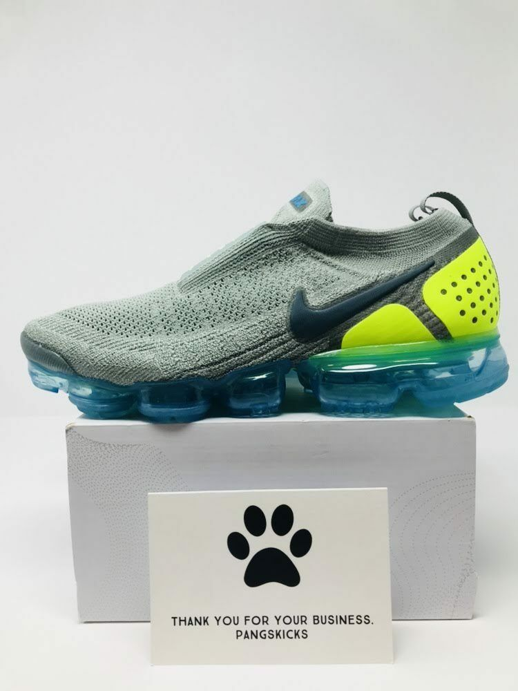 Nike Air VaporMax Flyknit Moc 2 'Neo Turquoise' AH7006-300 Size 10-12