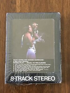 Isaac Hayes and Dionne Warwicke A Man and A Woman 8 Track Factory Sealed